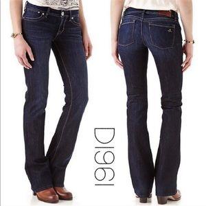 DL1961 premium denim Milano boot cut jeans